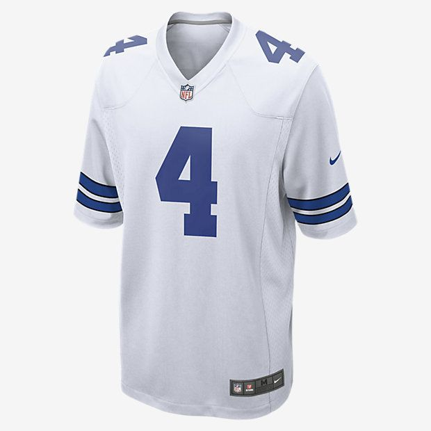 Nike NFL Dallas Cowboys Game Jersey (Dak Prescott) Men's Football Jersey