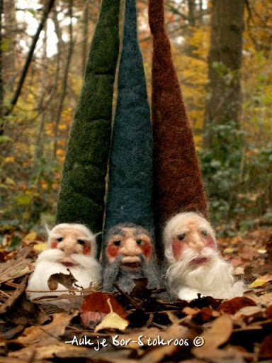 Needlefelt gnomes - 2012