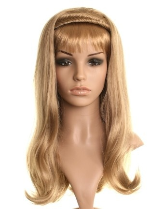 Wonderland Wigs - Ash Blonde Wavy Fishtail Plait 3/4 Wigs Half Wigs Hairpieces. These stunning half wig hairpieces, also known as half wigs, 3/4 wigs, wig extensions, hair extensions or headband wigs are every girls answer to easy and instant glamour. Great for festivalhair.  #greathair #festivalhair