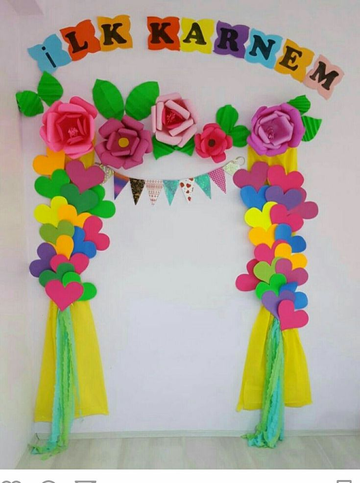 Mother S Day Classroom Decoration Ideas : Pin by ba kan on karne kap s�s� �zel g�nler pinterest