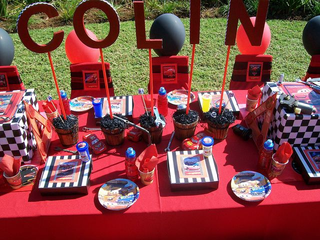 disney cars party by treasures and tiaras kids parties via flickr