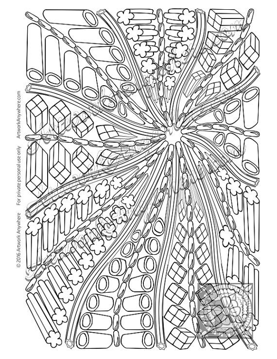46 best artwork anywhere official images on pinterest for Licorice coloring page