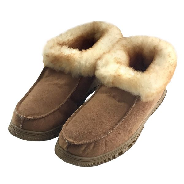 Mens Sheepskin Slippers Deck M926