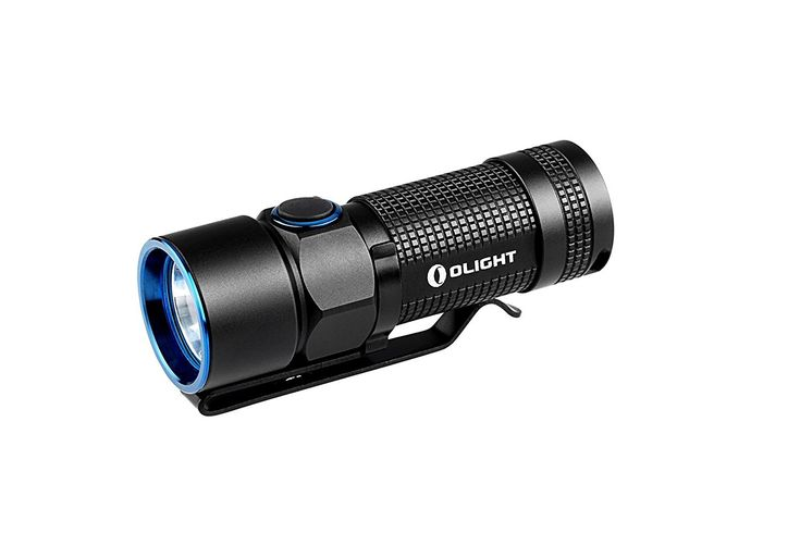 Olight S10R Baton III LED Flashlight A rechargeable EDC flashlight that packs a punch! This Olight S10R Baton III has a whopping 600 lumens at maximum output...