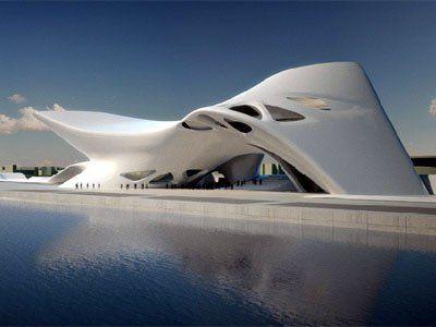 Zaha hadid Architect Nuragic and Contemporany Art Museum, Cagliari, Italy