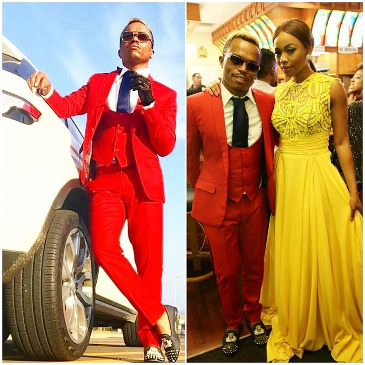 #sexysunday: If you missed the #sexyslayage served at the #vdj2015 - no worries, we'll fill you in. First up is the #kingandqueenofslayage @bonang_m & @somizi! #youarethefire  #wewereneverready #bowbeforethekingandqueen #redandyellow #peoplemagcolours #peoplelovesyou