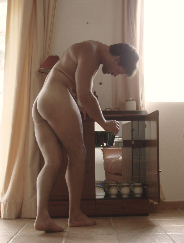 from Gunner naked male adult buttocks shower