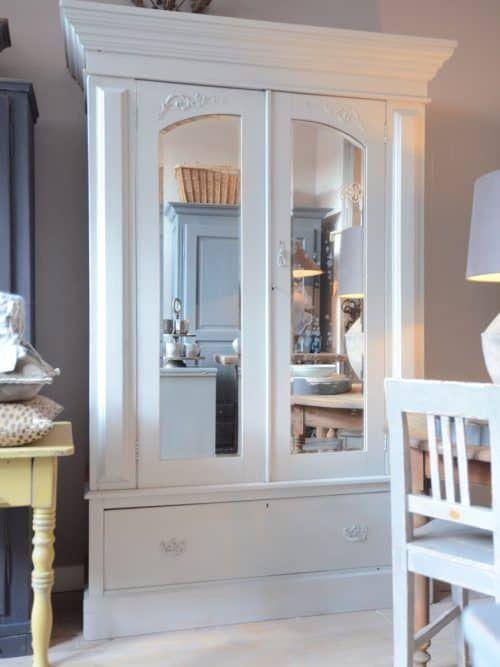 Vitrinekast Oud Grenen.Oud Grenen Kast In 2019 Kast Armoire Furniture En Home