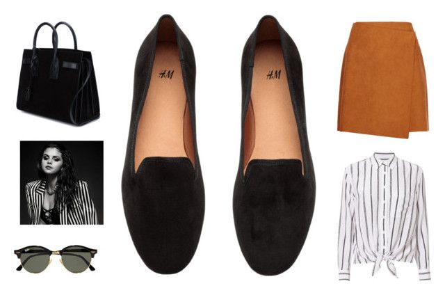 """""""Loafer Lover"""" by thelomthethwa on Polyvore featuring MSGM, Equipment, Yves Saint Laurent and Ray-Ban"""