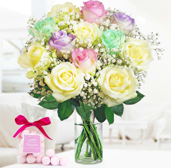 I Got This Off Of Google And I Love Them So Much Unicorn Roses You Can Buy These Flower Delivery Flowers Delivered Valentines Balloons