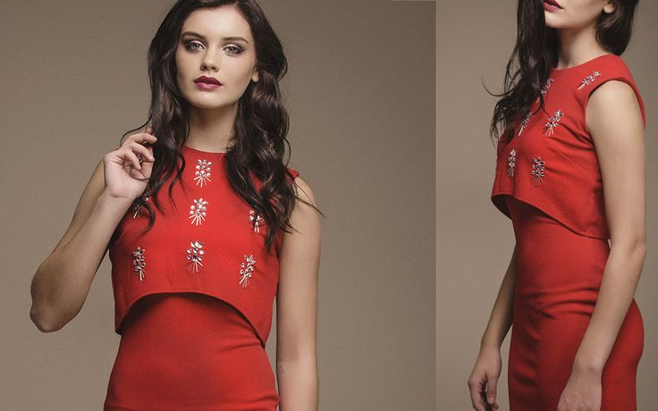 http://www.iclothing.com/layla-2-in-1-embellished-bodycon-dress-in-red-46896 #iclothing #AW14 #AutumnStyle