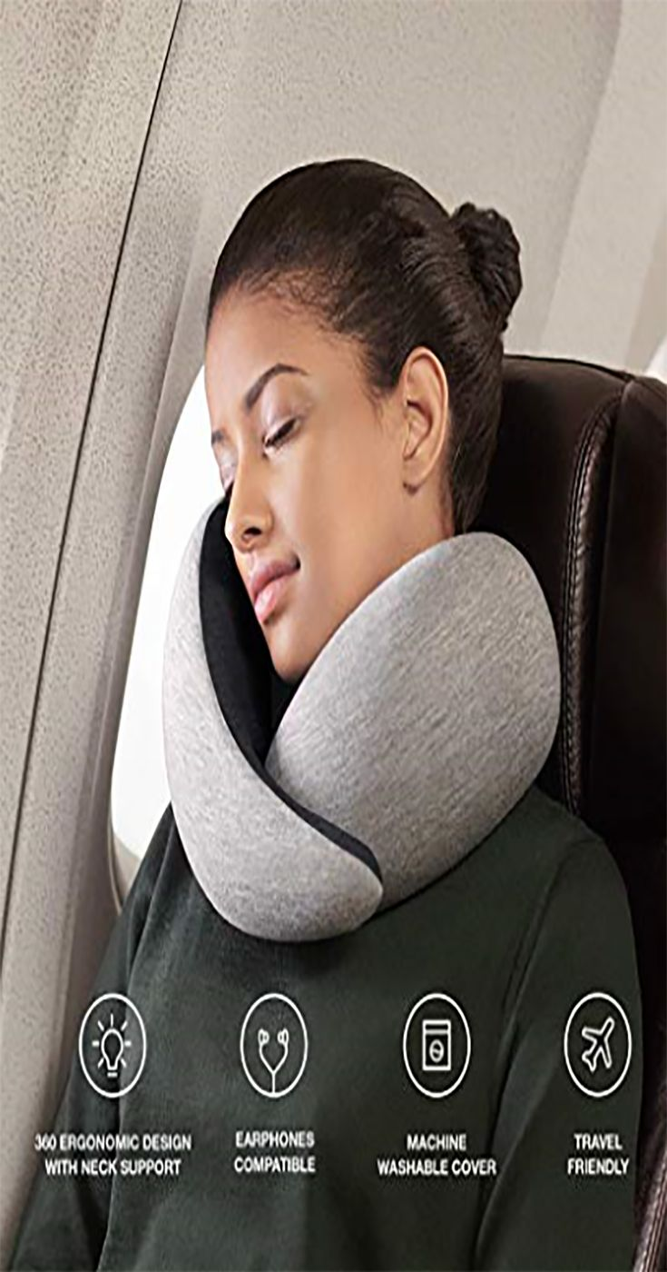Reisekissen Mit Memory Foam Fur Flugzeuge Auto Nackenstutze Fur