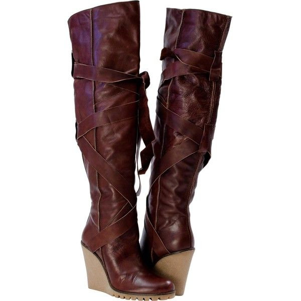1000  ideas about Brown Wedge Boots on Pinterest | Summer wedges ...