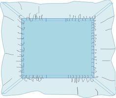 Como fazer lençol com elástico para cama