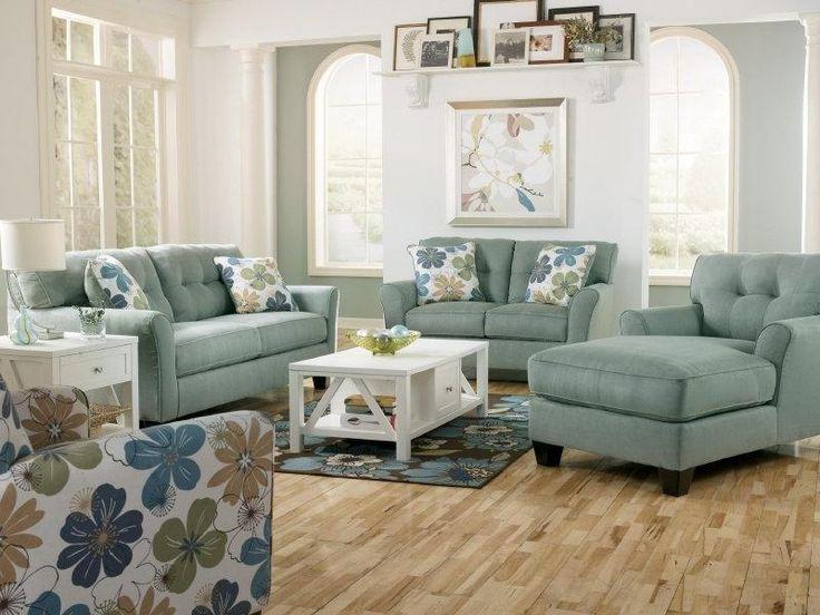 Nebraska Furniture Mart U2013 Ashley Kylee Lagoon Living Room Set, I Reallyyy  Want