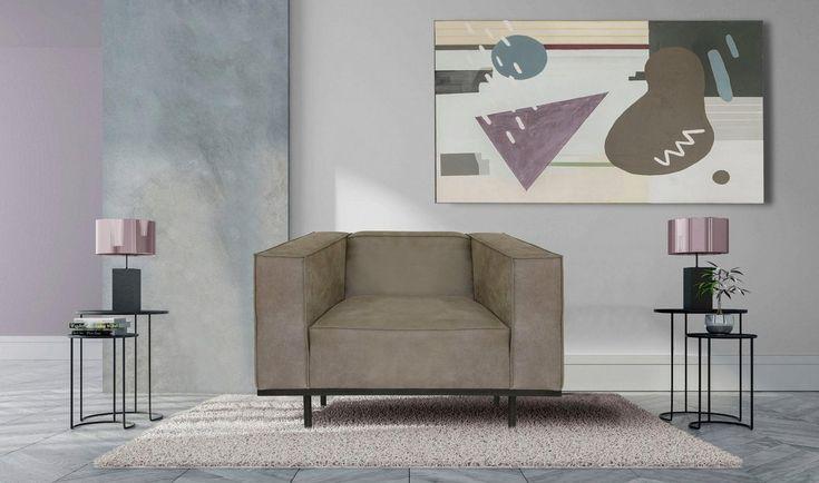 Panama Loveseat Mit Keder Metallgestell In Modernem Design Haus Deko Modernes Design Sessel