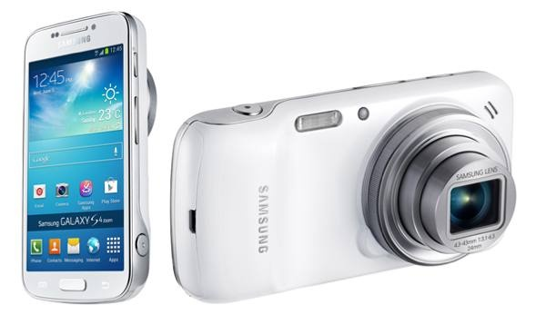 "Samsung Galaxy S4 Zoom      Οθόνη 4.3"" Super AMOLED qHD (960 x 540)     Επεξεργαστής dual-core 1.5GHz     Αποθηκευτικός χώρος 8GB (επέκταση με microSD)     Κάμερα 16MP με 10x οπτικό zoom, O.I.S., Xenon flash, 24-240mm F3.1-F6.3     ISO 100-3200     Εμπρόσθια κάμερα 1.9MP     WiFi 802.11 a/b/g/n 5GHz, Bluetooth 4.0, 3G, LTE, GPS-GLONASS     Λειτουργικό σύστημα Android 4.2.2 Jelly Bean με TouchWiz UI     Μπαταρία 2330mAh     Διαστάσεις 125.5 x 63.5 x 15.4mm     Βάρος 208gr"