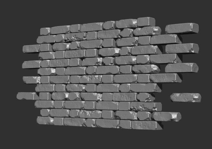 Broken wall - Polycount Forum