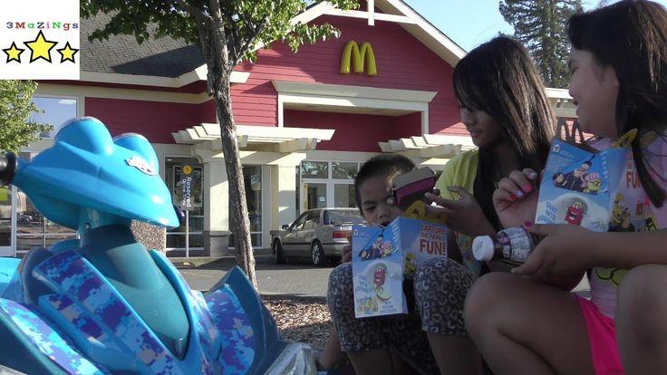 Mc Donald Playground plus kiddie meal with Minion toy!