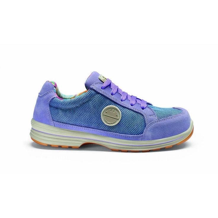 Zapato de seguridad DIKE LADY D LIKE S1P Lila glicina.