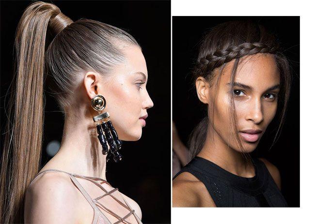 Per la prossima primavera estate 2016 i capelli lunghi e di media lunghezza possono contare su uno styling sobrio nel segno della naturalezza per suggerire un look semplice e facile da creare. &nbs…