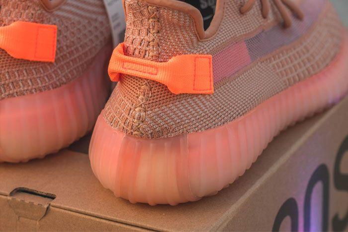 peach yeezy boost 350