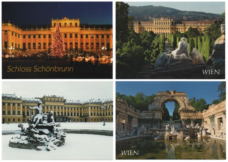 From Wien  -  I bought them between 2017.11.24 and 11.26    --- Schönbrunn Palace