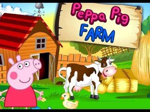 Бесплатные игры Свинка Пеппа на ферме – WG Game World Online - Игры Мира Онлайн Бесплатно