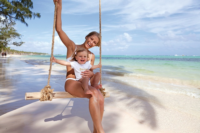 Family vacations at Barcelo Bavaro Beach Resort in Punta Cana, Dominican Republic.
