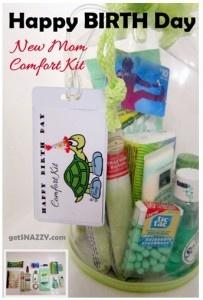 New Mom Comfort Kit