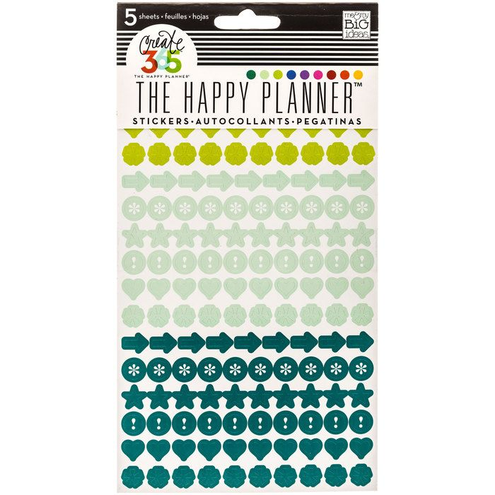 Colorful Dots Create 365 Happy Planner Stickers   Hobby Lobby   1240357
