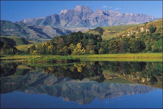 Champagne Castle, Drakensberg - Kwazulu Natal