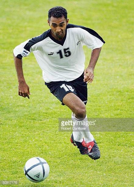 Salesh Kumar of Fiji in action during the OFC Nations Cup Tournament between Australia and Fiji at Marden Sports Ground on June 2 2004 in Adelaide...