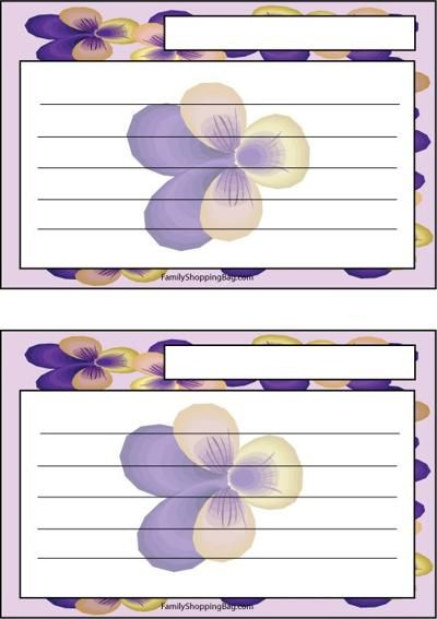 17 Best images about Recipe Cards on Pinterest | Printable recipe ...
