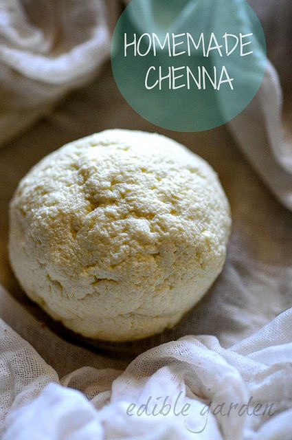 how to make chenna-homemade chenna from milk