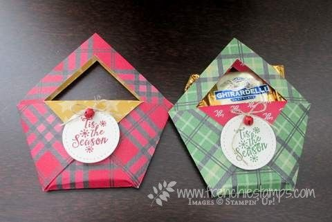 Hello Stampers   Today project it is easy and simple so why not making a few dozen and carry them in your purse when you go out during...