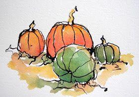 Sketchbook Wandering: Joyful Vegetables