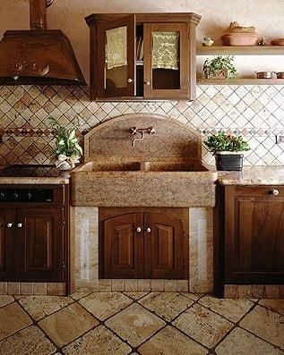 183 best kitchen sink faucets images on pinterest french country kitchens french kitchen design log home kitchens workwithnaturefo