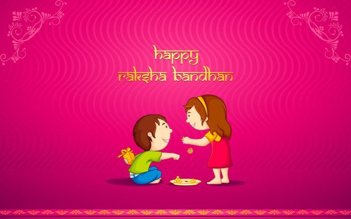 20 Best Raksha Bandhan SMS  Whatsapp Messages Wishes FB Status In Hindi & English