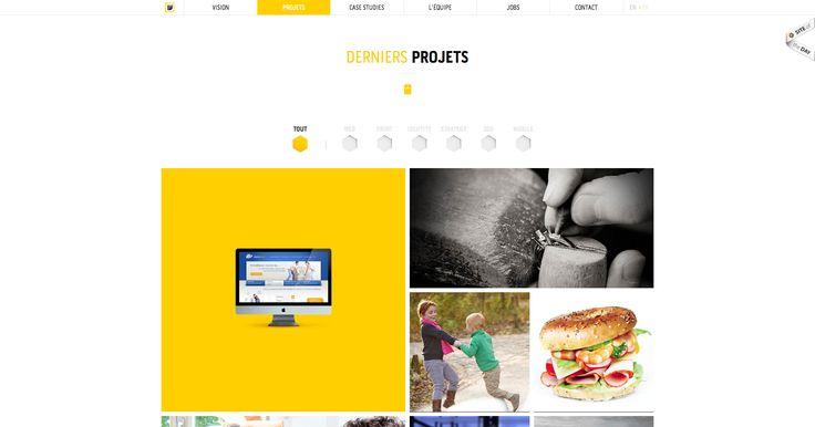 Projets - Globule Bleu - Agence de communication web à Liège