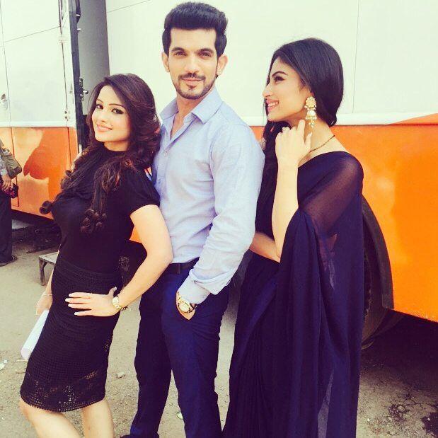 My faves (Arjun, Adaa and Mouni)