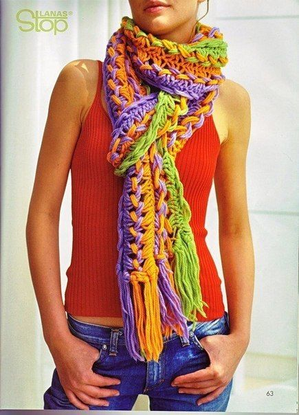 Вяжем крючком. Вязание, похожее на перуанское (брумстики). Необычное решение. / Удивительное искусство