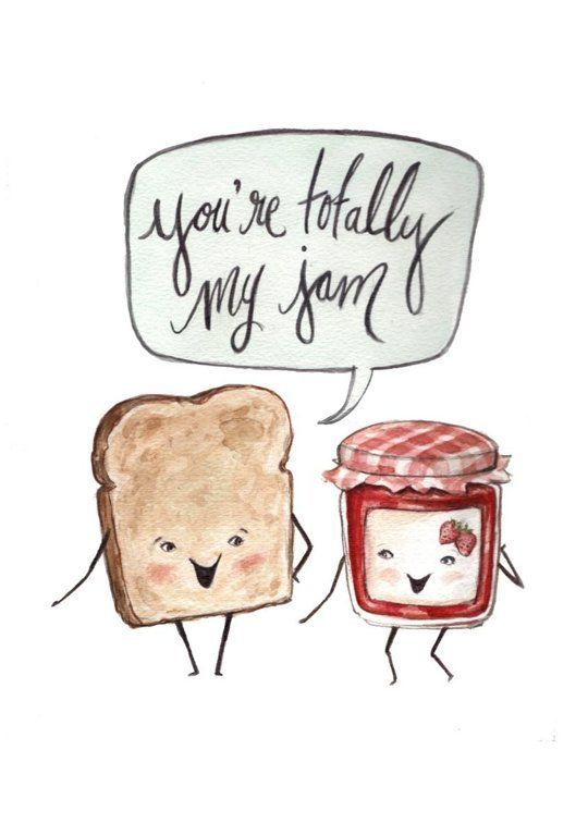 25 best ideas about Valentines day puns – Food Valentine Cards