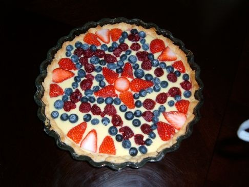 Patriotic Pudding Pie: Festive, easy and only 192 calories!: Healthy Puddings, Free Puddings, Patriots Pies, Pies Recipes, Puddings Pies, Patriots Puddings, Pie Recipes, Fruit Puddings, July Pies