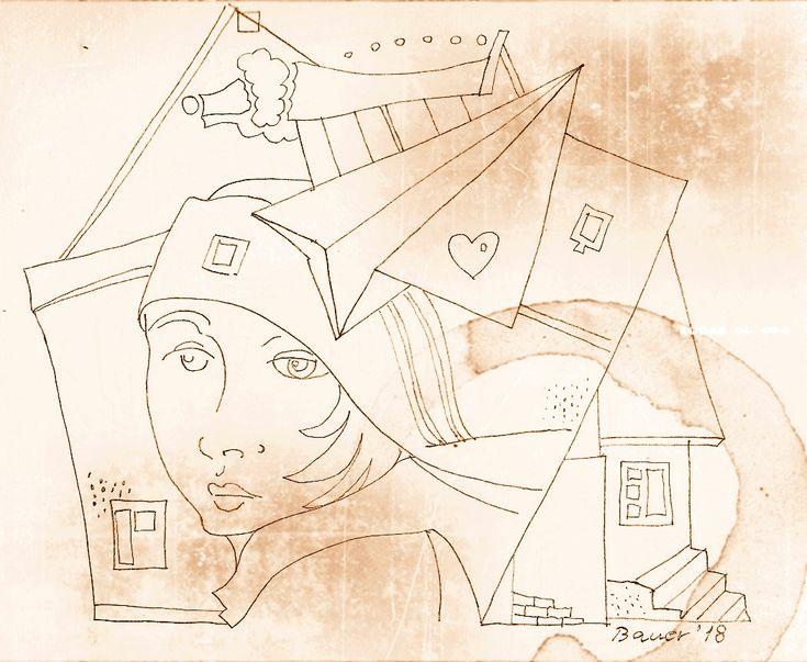 István Bauer - Úti rajzok