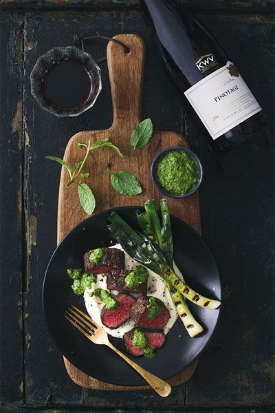 Springbok Loin with Turnip And Cashew Nut Purée | Crush Magazine Online