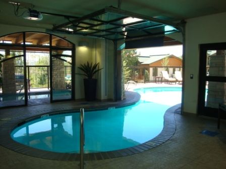 Best 25+ Indoor outdoor pools ideas on Pinterest   Indoor swimming ...
