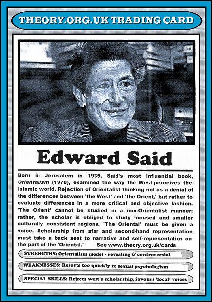 edward said trading card