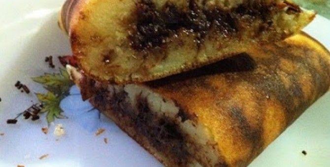 Light of the Moon cake recipe (Martabak Manis)