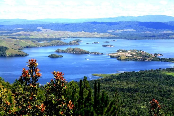 Lake Sentani, Papua